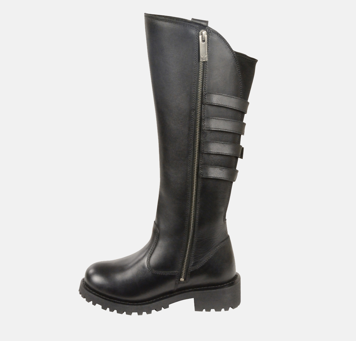 Beautiful  SUTTON BLACK BOOTS 6 WOMENS NIB 140 MOTORCYCLE RIDING D85505  EBay