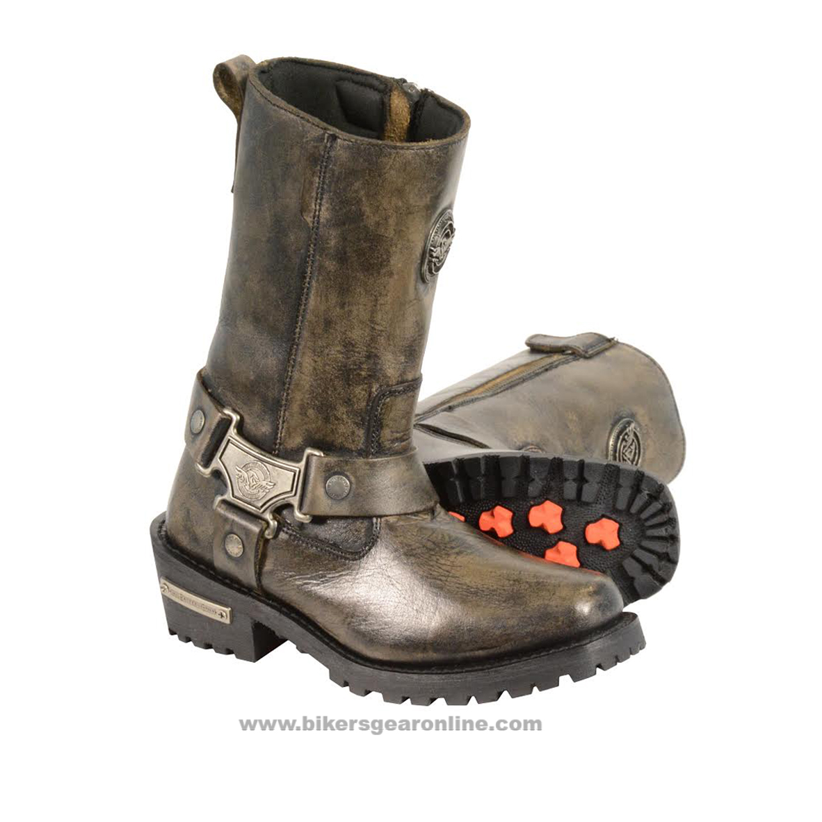 c76757a9f5a Mens Leather Motorcycle Boots for Sale - Extreme Biker Boots
