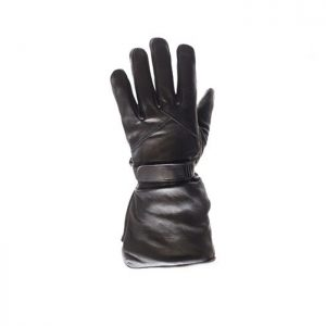 Leather Gauntlet Gloves