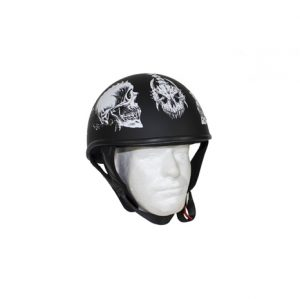 flat-black-dot-helmet-with-white-horned-skeletons