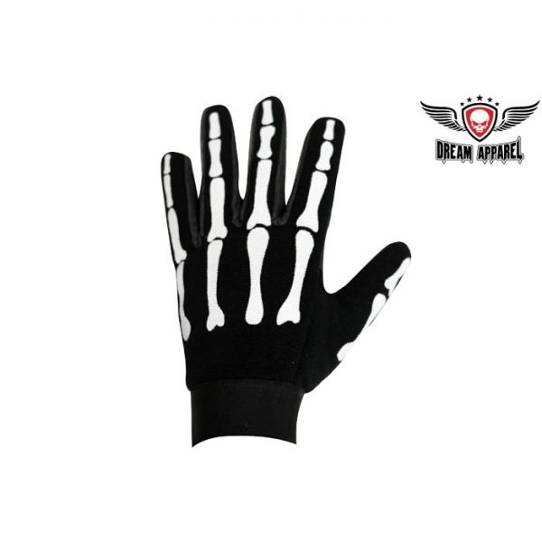 Skeleton Mesh Textile Mechanics Gloves