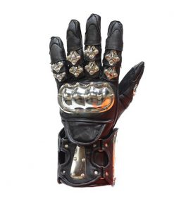 mens-leather-racing-gloves-with-metal-knuckle-protector
