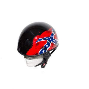 shiny-black-dot-rebel-motorcycle-helmet