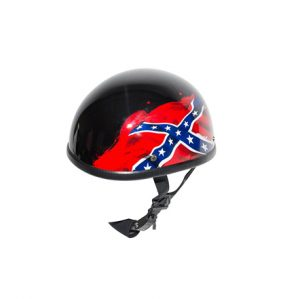 shiny-black-rebel-flag-motorcycle-helmet