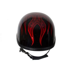 shiny-burgundy-motorcycle-novelty-helmet-2