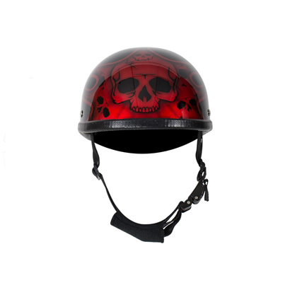 shiny-burgundy-motorcycle-novelty-helmet