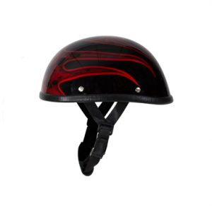 shiny-burgundy-motorcycle-novelty-helmet-4