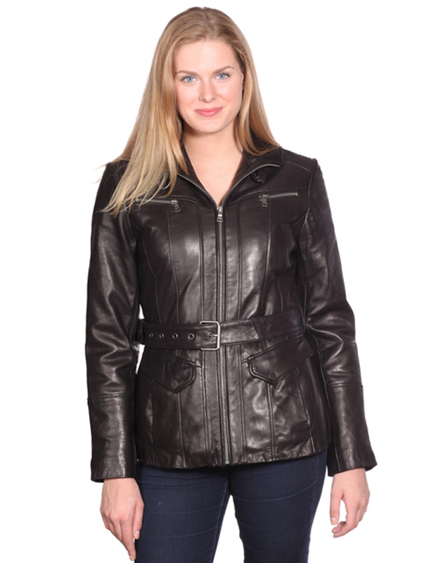 NUBORN LEATHER ELENA LEATHER JACKET