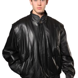 Wilda Classic Leather Bomber