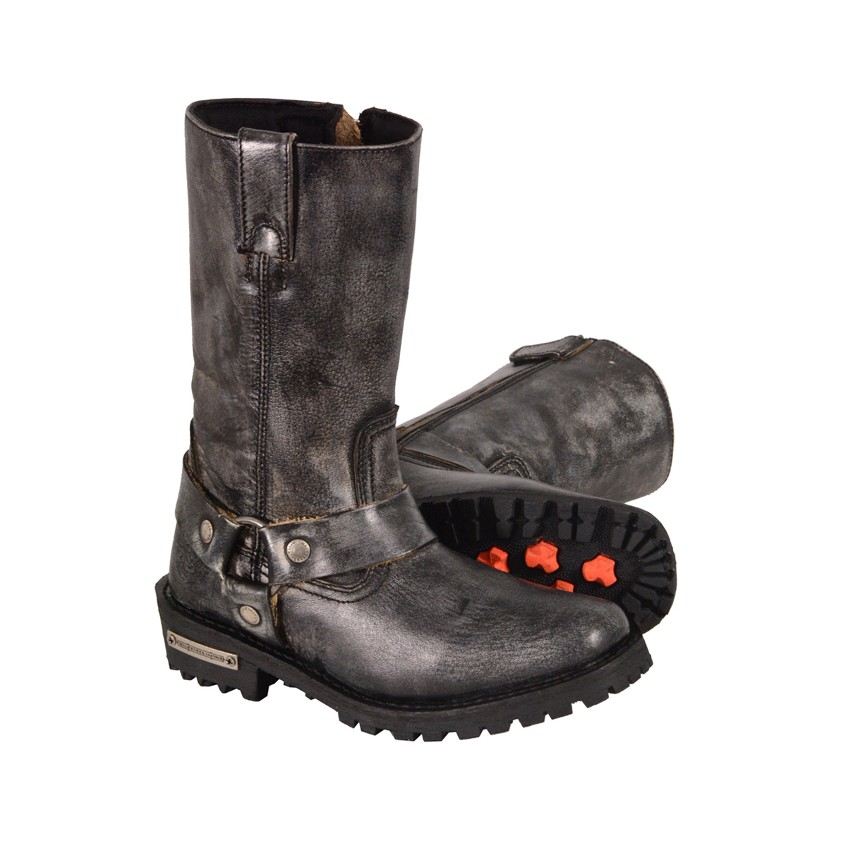 Women's Motorcycle Boots. Show the world your rebellious side with Harley-Davidson women's motorcycle boots. Wear them with jeans, skirts, and everything else when you want to add a little Harley edge to your ensemble. You can compare up to 6 items at a time. Remove one or more items before adding another to compare.