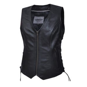 Ladies PREMIUM zippered vest
