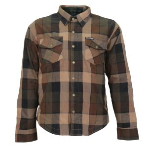 Hot Leathers Armored Flannel Sidewinder