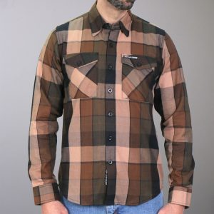 Hot Leathers Flannel Long Sleeve Sidewinder